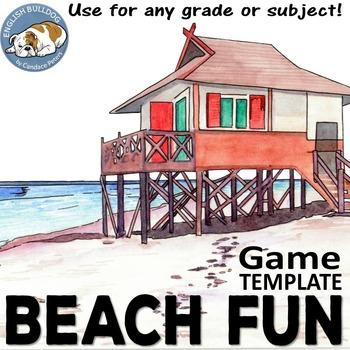 Beach Fun Bomb Game Template