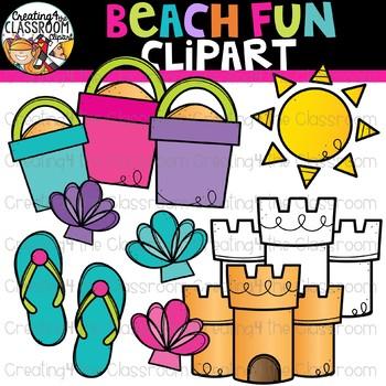 Beach Fun Clipart {Summer Clipart}