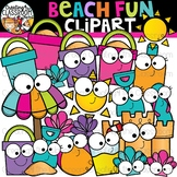 Beach Fun Clipart {Summer Clipart}