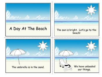 Emergent Reader - Beach Fun