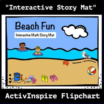 Beach Fun: Interactive Math Story Mat