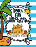 Beach Fun - Literacy, Math, and Writing MEGA Unit