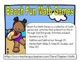Beach Fun Math Games