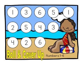 Beach Fun Math Games