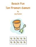 Beach Fun Ten Frames Games
