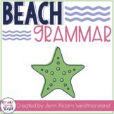 Beach Grammar:  Activities for Speech Therapy & Classrooms!