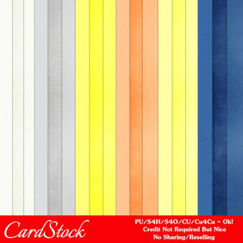 Beach House A4 size CardStock Digital Papers