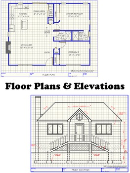 Beach House Architectural Plans