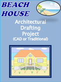 Beach House Architectural Plans:Distance Learning
