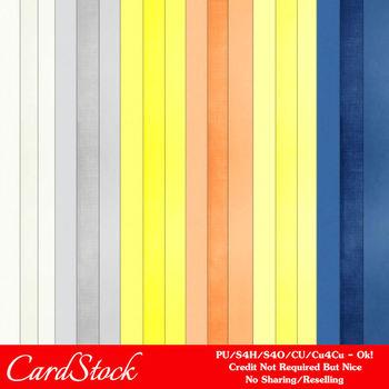 Beach House Cardstock Digital Papers