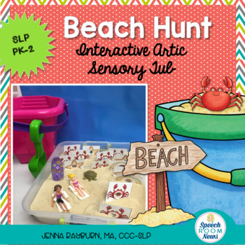 Beach Hunt: Interactive Articulation Sensory Tub Activity