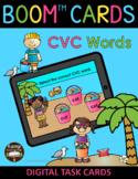 Beach Kids Summer CVC Words BOOM Cards™