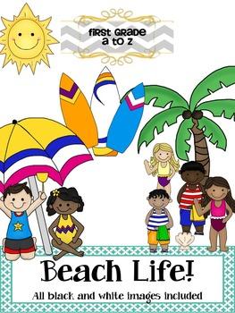 Beach Life Clipart