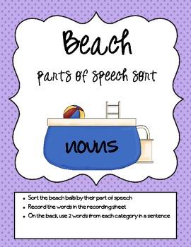 Beach Literacy Activities