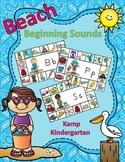 Beach Literacy Activities Summer Beginning Consonant Sounds