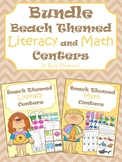 Beach Literacy and Math Centers ~ The Bundle