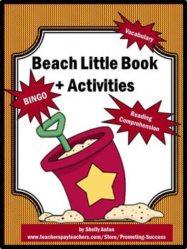 Beach Activities for Summer School Literacy Centers