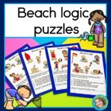 Beach Logic Puzzles
