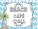 Beach Luau Themed Cafe Reading Pack