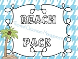 Beach Luau Themed Classroom Management Pack