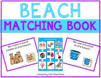 Beach Matching Book (Adapted Book)