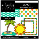 Beach Mini Clipart Bundle {A Hughes Design}