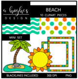 Beach Mini Clipart Bundle {A Hughes Design}