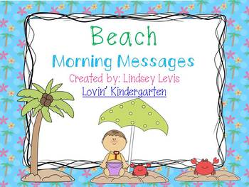 Beach - Morning Messages