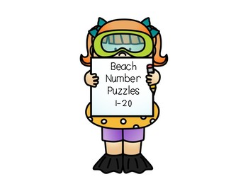 Beach Number Puzzles