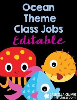 Beach Ocean Theme Class Jobs