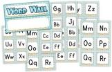 Beach Ocean Themed Word Wall Labels
