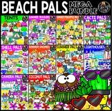 Beach Pals Clip Art Mega Bundle {Educlips Clipart}