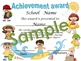 Beach Party Achievement award English / Spanish version