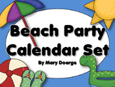 Beach Party Calendar Set