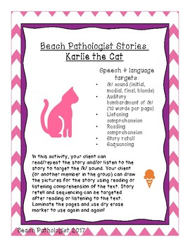 Beach Pathologist Stories: Karlie the Cat