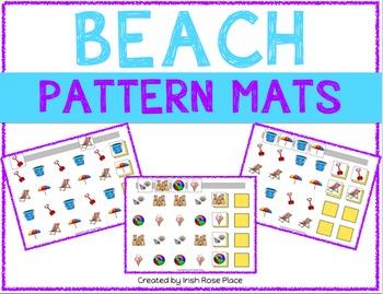 Beach Pattern Mats