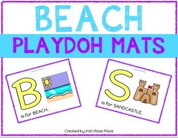 Beach Playdoh Mats