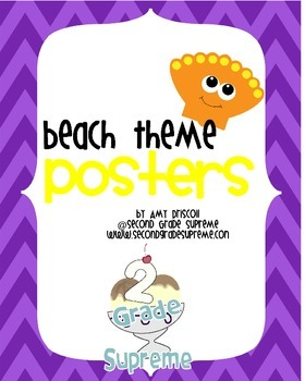Beach Posters