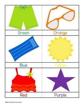 Beach Preschool Printable Unit