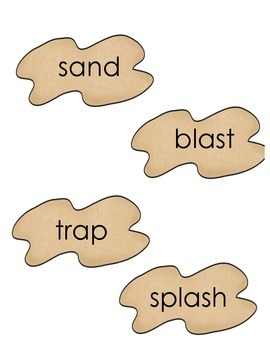 Beach Real and Nonsense Word Sort