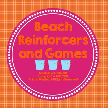 Beach Reinforcers and Games