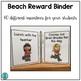 Beach Reward Binder (Positive Behavior Incentive Program)