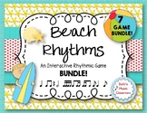 Beach Rhythms! An Interactive Rhythm GAME BUNDLE - 7 GAMES