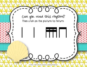 Beach Rhythms! An Interactive Rhythm Game, Practice Tika-tika (Kodaly)