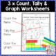 Beach Roll and Count Simple Graph Activity