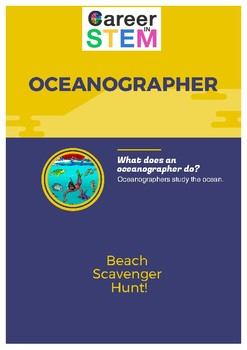 Beach Scavenger Hunt - fun summer activity!