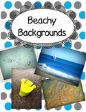 Beach Scrapbook Paper