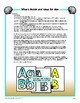 Beach Sea Alphabets - for Spring or Summer bulletin boards, banners, and more!