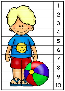 Beach Sequence Puzzles