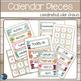 Beach Shiplap Theme Calendar Set